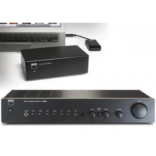 Цифро-аналоговый преобразователь (ЦАП) NAD DAC 1 Wireless USB