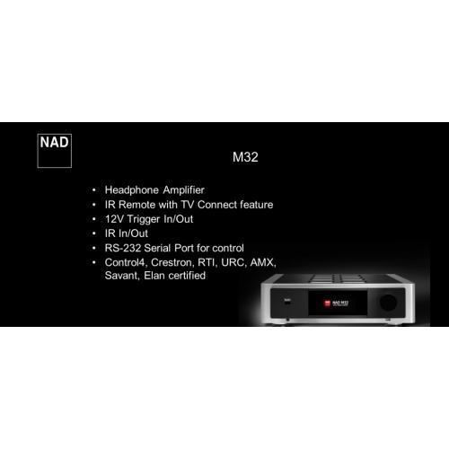 Интегральный усилитель NAD M32