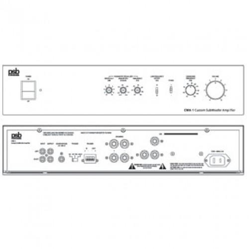 Встраиваемая акустическая система PSB In-Wall CWA-1